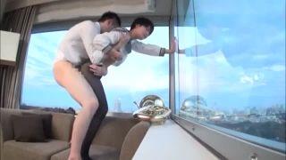 女子校生とホテルでエッチした黒パンスト履かせたままハメ撮り素人動画