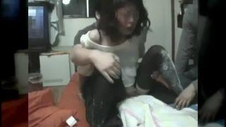 マンコに覚醒剤を塗られ狂った熟女のシャブSEX乱交エロ動画