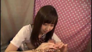 もえあず似可愛い女子校生をナンパして手コキ発射して貰った素人JK動画