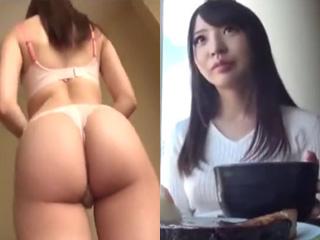 プリっ上がったお尻が綺麗な人妻をモデル撮影と騙しSEXした動画
