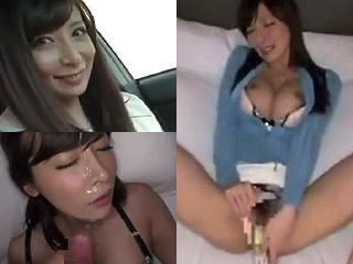 綺麗な人妻の顔に顔射した素人ハメ撮りオナニーSEXエッチ動画