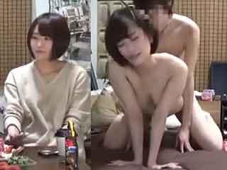 巨乳で可愛い女子大生とのエッチを隠し撮りした素人SEX盗撮動画