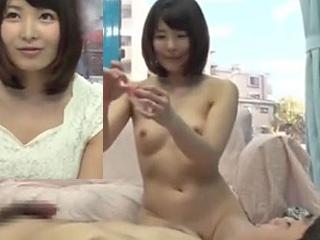 人妻が優しくリードしてMM号で童貞君の筆卸し初SEXエロ動画