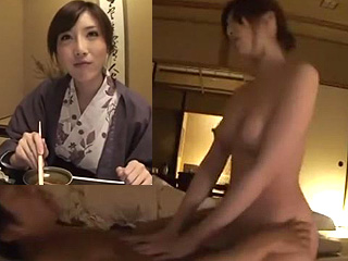 綺麗なOLお姉さん温泉旅行でSEXヤリ捲り騎乗位がエロイ動画