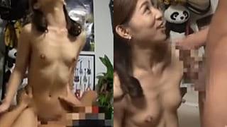 ナンパした人妻がデカチン突かれ騎乗位イキ捲る素人盗撮エロ動画