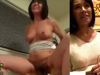 美熟女50代妻をナンパしてSEXした巨乳エロボディー素人動画