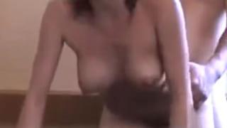 貸切風呂で巨乳で可愛い彼女とSEXしてる素人カップル盗撮動画