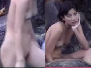 加藤あい露天風呂でマンコ丸見え芸能人の盗撮ノーカット流出動画