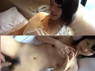 処女JKと童貞オタク君カップル初めてのSEX素人投稿エロ動画