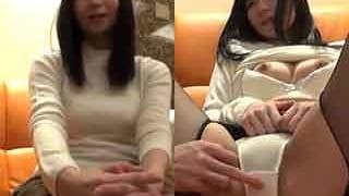 イケメンAV男優のチンコやテクに興味深々な純情OLエッチ動画