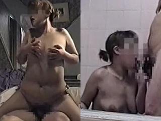 スナックのホステスとラブホでセックスしたエッチ動画を素人投稿