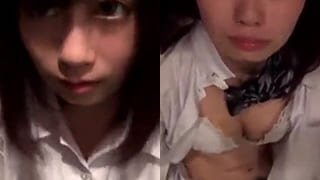欅坂46に居そうなマジ可愛い10代の美少女とパパ活SEXエロ動画