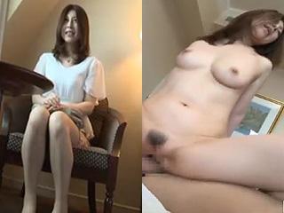 まさにマダムって感じ40代の美人妻がSEXで乱れ捲る素人エロ動画