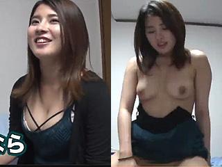 ナンパした巨乳で可愛い女の子の部屋でSEXした素人エロ動画