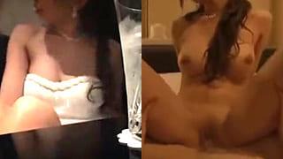 巨乳キャバ嬢とアフターで枕営業SEXしちゃった盗撮エッチ動画