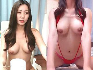 韓国の美人で巨乳な韓流アイドルより可愛い娘の素人オナニー動画