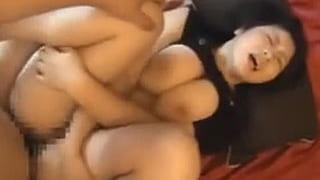 爆乳100cmおっぱいのパイズリが凄い素人投稿セックス動画