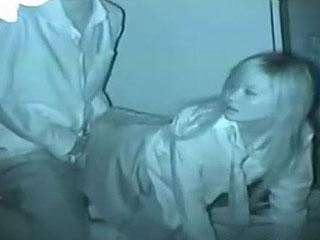 高校生カップルが夜の公園でセックスしてる赤外線カメラ盗撮動画