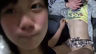 早漏で包茎な小さいチンコ男がJKとセックスした投稿エロ動画