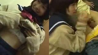 本物の現役JKとセーラー服を着たままガチSEXした素人動画
