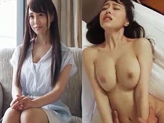 綺麗すぎる人妻がSNSでAV応募した巨乳でエロイ体した素人動画