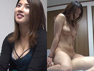 Gカップ巨乳キャバ嬢の家に押し掛けハメ撮りした素人SEX動画