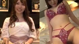 ガールズバーの巨乳な美女をお持ち帰りエッチした素人SEX動画