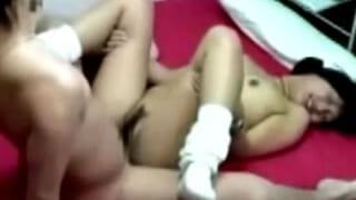 純粋な女子高生が悶絶イキ捲る盗撮されちゃった素人セックス動画