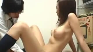 マジメな高校生がギャルJKの同級生と初SExした童貞エロ動画